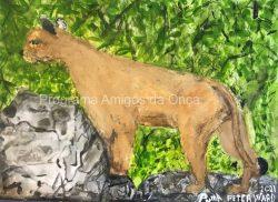"""Puma"", por Peter Ward"
