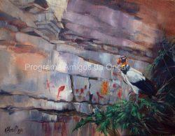 """Sentinel of the Sacred Symbols"" , por Kitty Harvill"